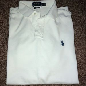 Men's polo collar shirt